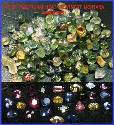 evidence heat of lanka gemstones lankan au carat sapphire shape treating blue gemstone sri no octagon